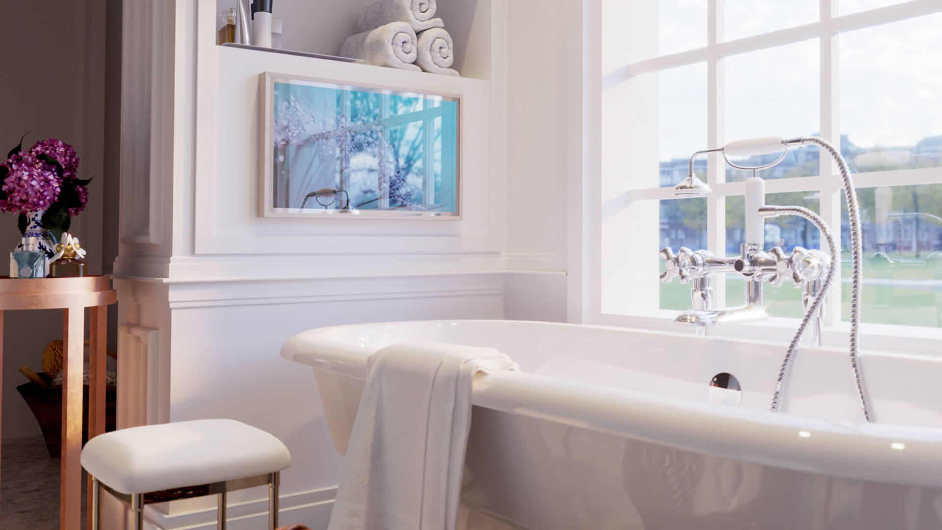 Ocea Style Badezimmer TV